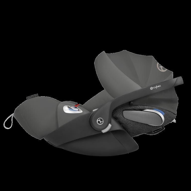 Cybex Cadeira Auto Ovinho Cloud Z Soho Grey plus com SensorSafe